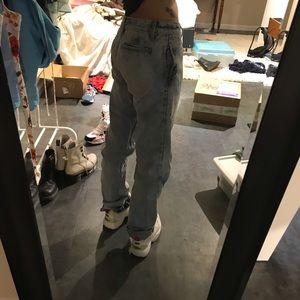 lower rise brandy jeans